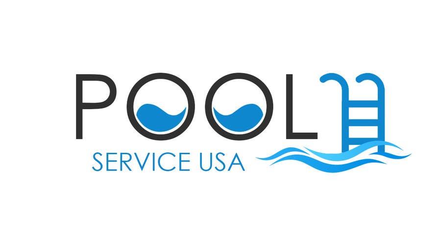 Konkurrenceindlæg #                                        39                                      for                                         Pool Service USA Logo