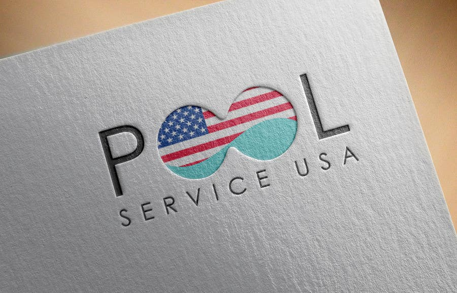 Konkurrenceindlæg #                                        60                                      for                                         Pool Service USA Logo