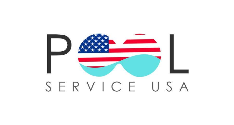 Konkurrenceindlæg #                                        61                                      for                                         Pool Service USA Logo
