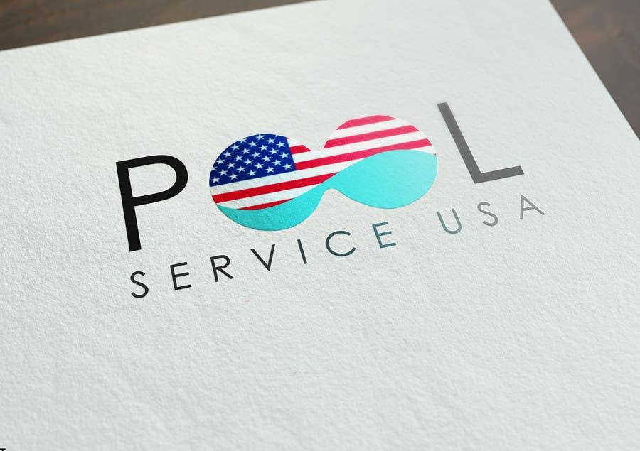 Konkurrenceindlæg #                                        63                                      for                                         Pool Service USA Logo