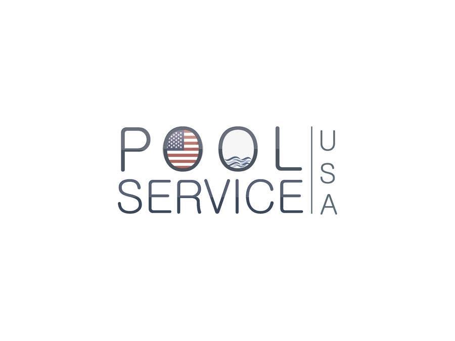 Konkurrenceindlæg #                                        27                                      for                                         Pool Service USA Logo
