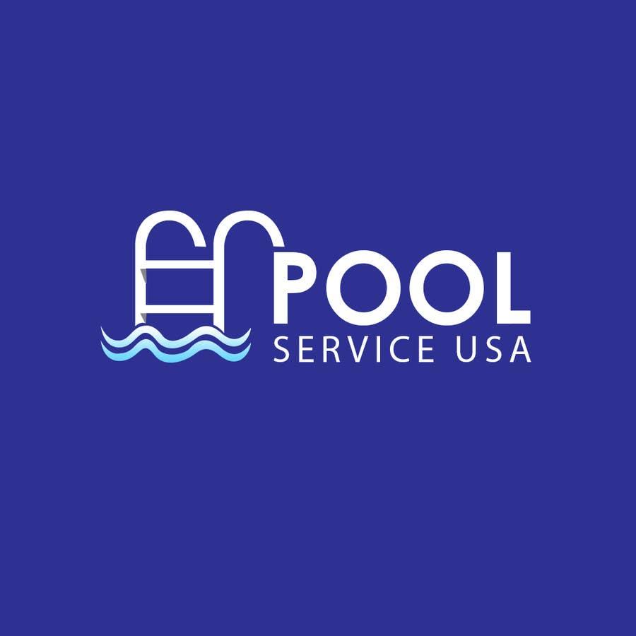 Konkurrenceindlæg #                                        35                                      for                                         Pool Service USA Logo