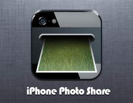 #28 untuk Icon or Button Design for a photo sharing app oleh KinanRod