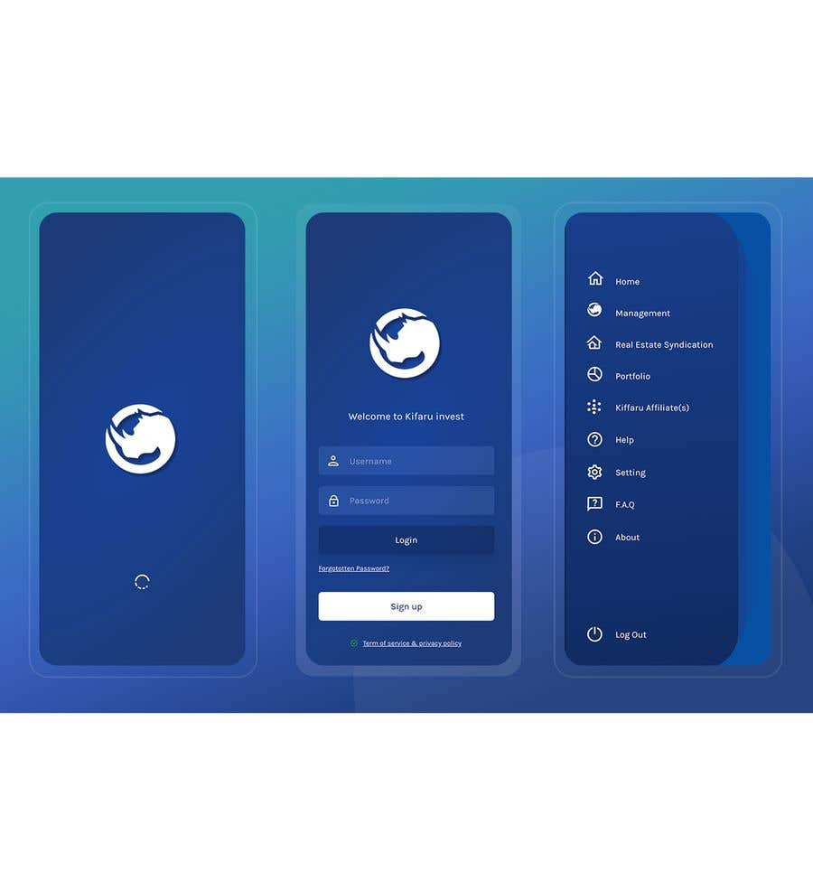 Contest Entry #                                        11                                      for                                         DESIGN: On-boarding, UI/UX, and Demo Text Mobile App Design