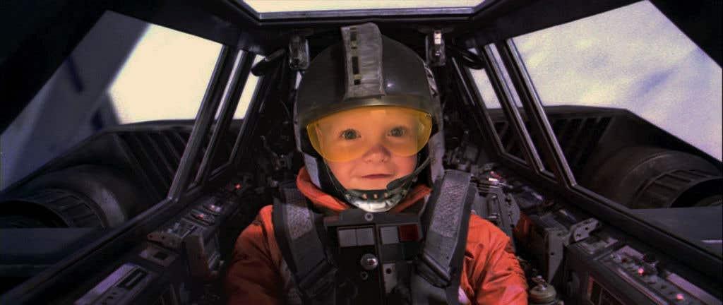 Inscrição nº                                         87                                      do Concurso para                                         Photoshop my son into this Star Wars Picture