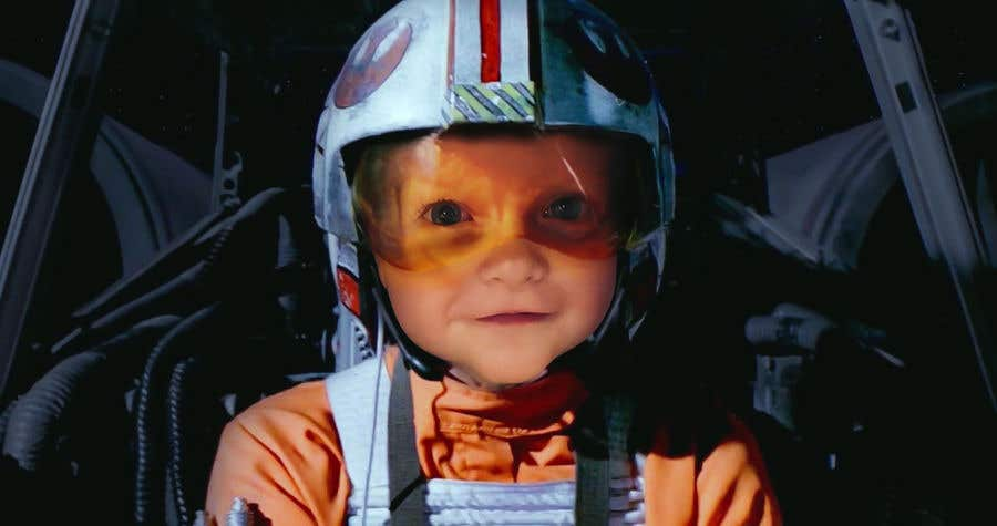Inscrição nº                                         128                                      do Concurso para                                         Photoshop my son into this Star Wars Picture