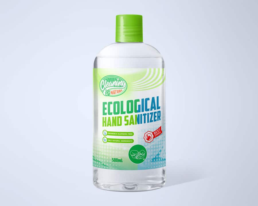 Contest Entry #                                        51                                      for                                         Green Cleaning Product line label