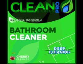 #38 for Green Cleaning Product line label by Luard0s