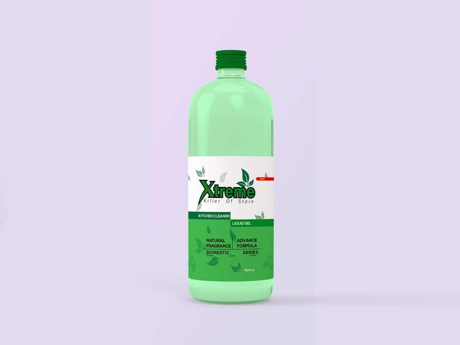 Contest Entry #                                        43                                      for                                         Green Cleaning Product line label