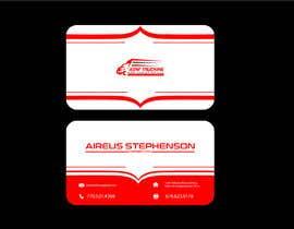 nº 54 pour Business cards - trucking company par shahbaz033217945
