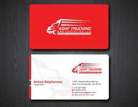 nº 74 pour Business cards - trucking company par Uttamkumar01