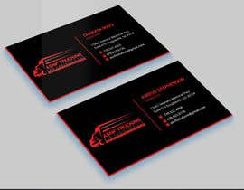 #1 for Business cards - trucking company af tanvirhaque2007