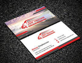 #166 for Business cards - trucking company af Creativemoshiur9