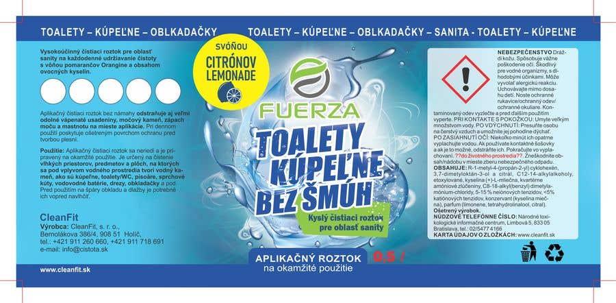 Penyertaan Peraduan #                                        45                                      untuk                                         Set of packaging labels for cleaning stuff