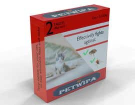 #5 untuk Design concept and 3D renders for a box containing 2 tablets against fleas and ticks for cats oleh rchslly9899