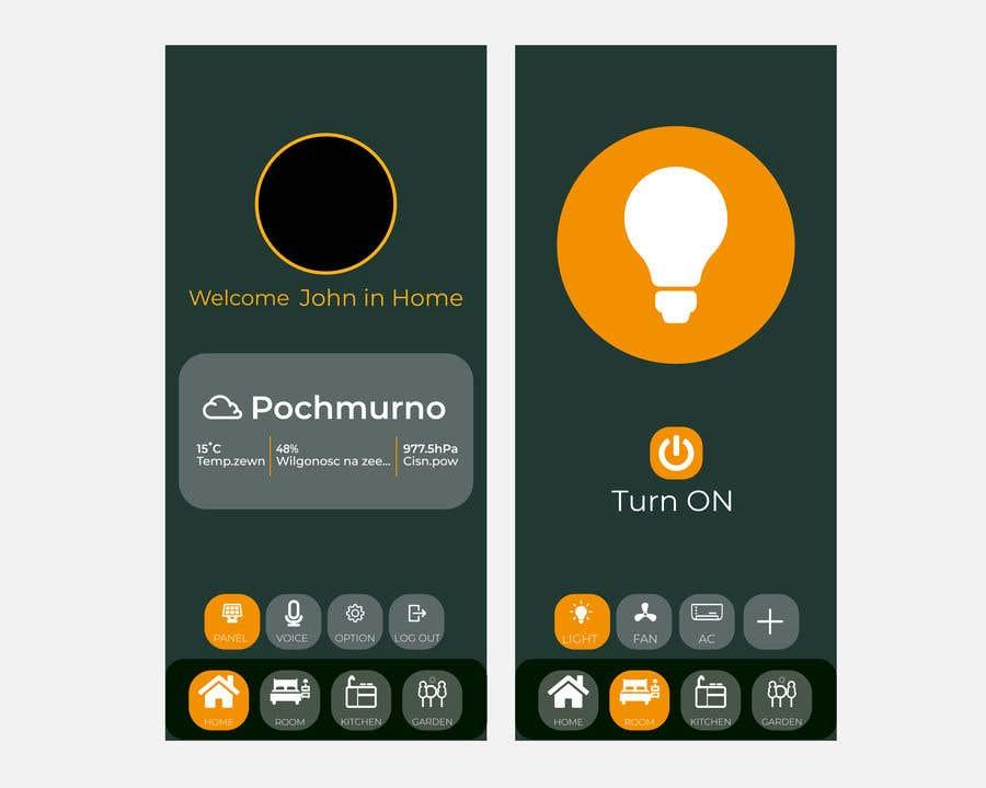 Contest Entry #                                        24                                      for                                         Mobile app design for smart home