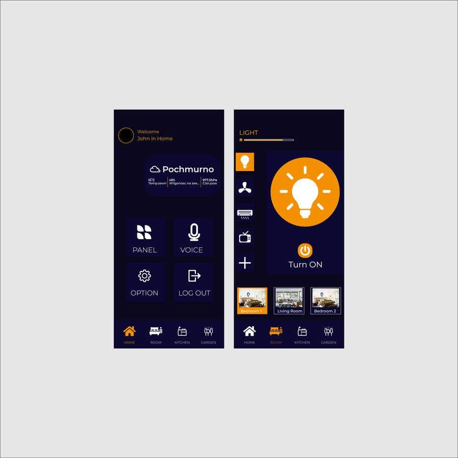 Contest Entry #                                        41                                      for                                         Mobile app design for smart home