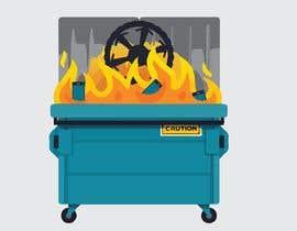 #29 for Dumpster Fire Icon af PepitoTrade