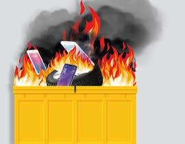 #24 for Dumpster Fire Icon af NoorjahanNadira