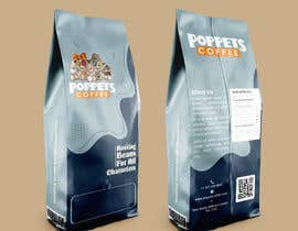 #155 for Coffee Bag Design by gdrithik
