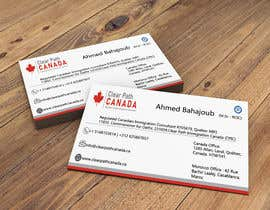 #139 for Business Card English and French by sarkar2015