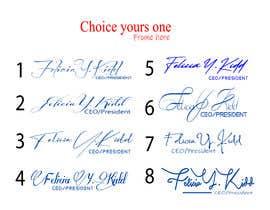 Nro 68 kilpailuun Create my custom signature käyttäjältä helalrazib