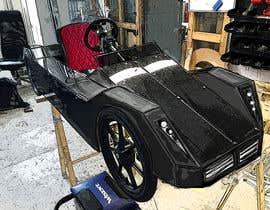 Nro 38 kilpailuun Design sketch for a tiny car for kids käyttäjältä bobanlackovic