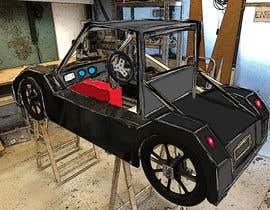 #39 for Design sketch for a tiny car for kids by bobanlackovic