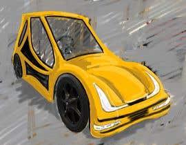 Nro 18 kilpailuun Design sketch for a tiny car for kids käyttäjältä patoalejo72