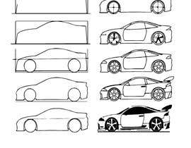 Nro 21 kilpailuun Design sketch for a tiny car for kids käyttäjältä sm10sumon