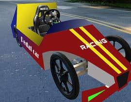 Nro 33 kilpailuun Design sketch for a tiny car for kids käyttäjältä MohammedRiadDIB