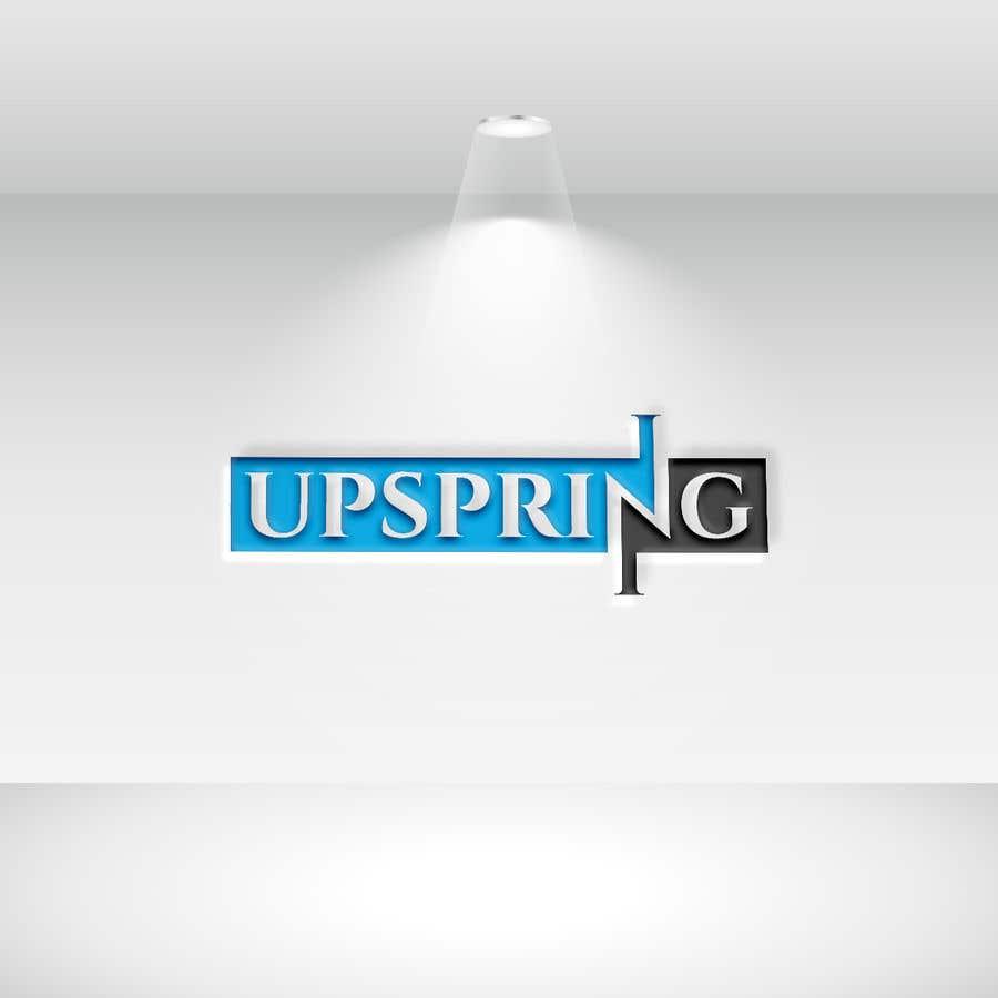Kilpailutyö #                                        329                                      kilpailussa                                         Create a logo for Upspring