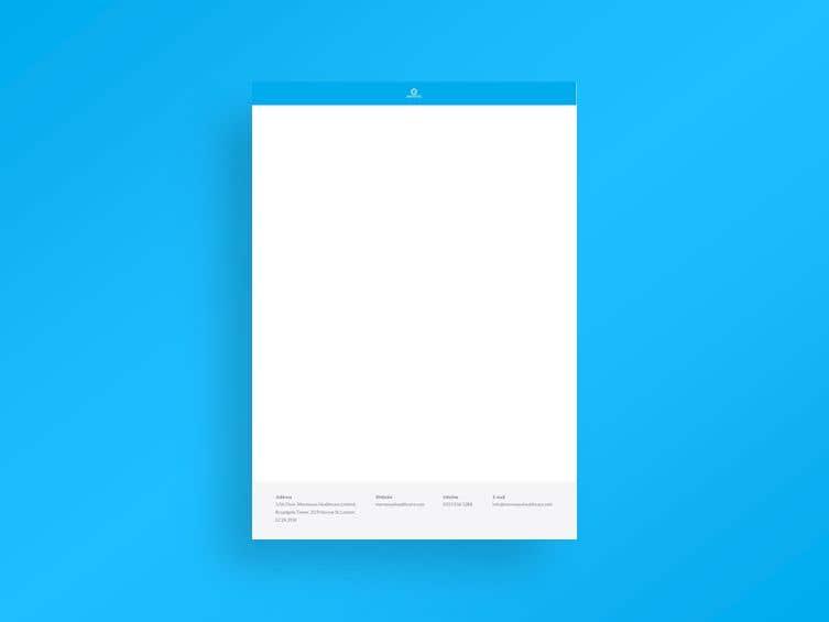 Bài tham dự cuộc thi #                                        41                                      cho                                         Design A4 Letterhead