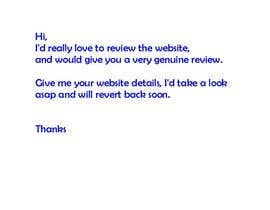 #36 for Need Site Reviews af Abhigrover