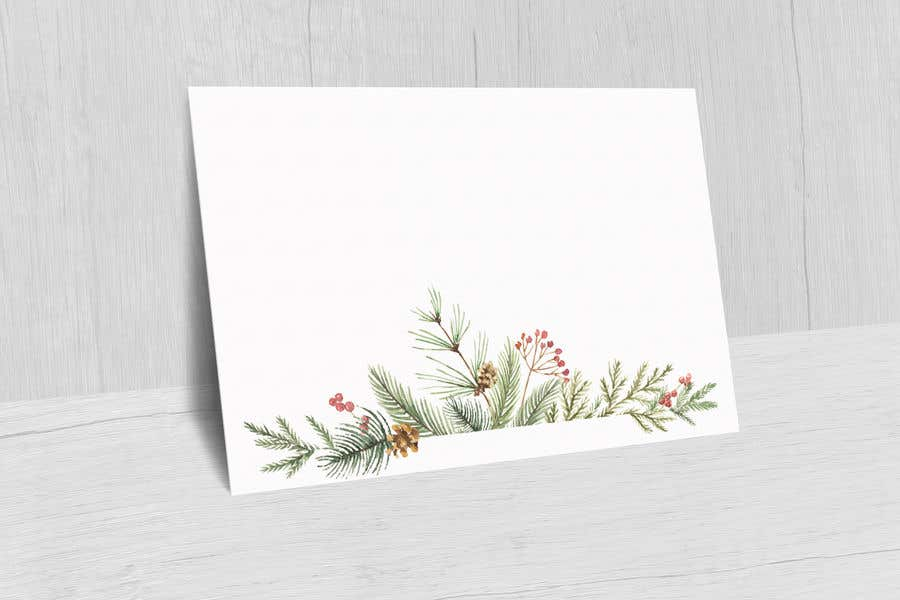 Contest Entry #                                        52                                      for                                         Christmas Card Postcard Border Design