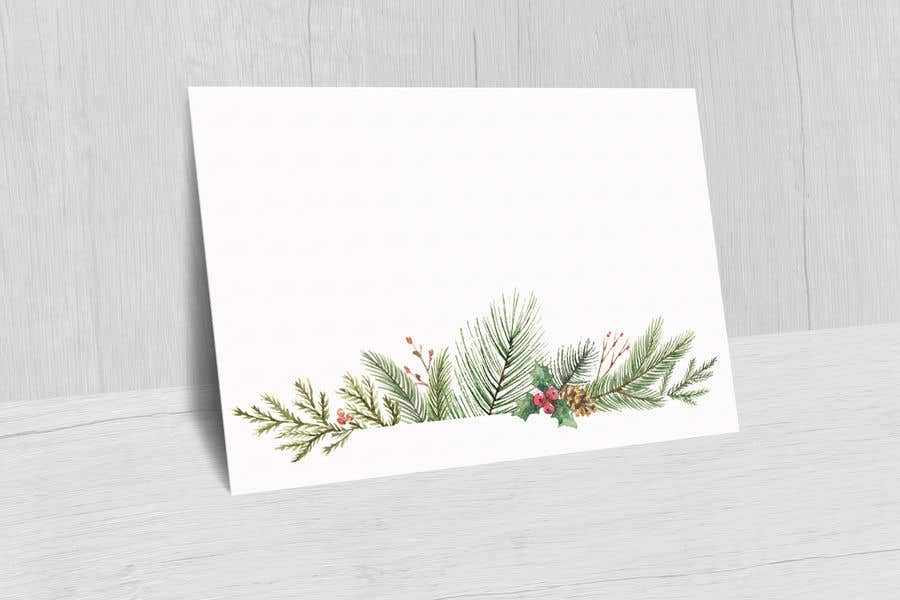 Contest Entry #                                        53                                      for                                         Christmas Card Postcard Border Design