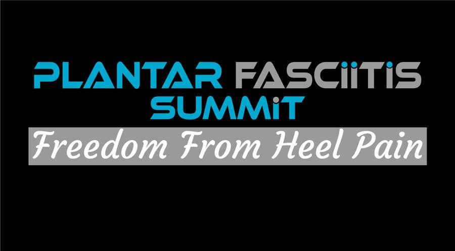 Bài tham dự cuộc thi #                                        36                                      cho                                         Plantar Fasciitis Summit Logo