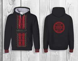 #237 untuk design a sweatshirt with slavic motiv oleh sukhiGD