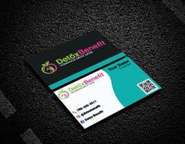 #449 for Detox Benefit - Business Cards by humayunkabir9069