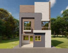 nº 97 pour Design a 2 floor house on 45sq meters plot with 2 floors par ghannitp