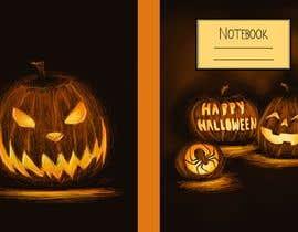 #37 para Need Halloween Cover for  Notebook Designed por RebecaBeatriceB