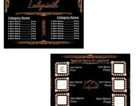 #299 cho Bakery catalogue menu for the company name Labyrinth bởi Sahakash100