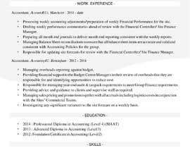 #21 cho I need 2 Academic CV format bởi uzclover