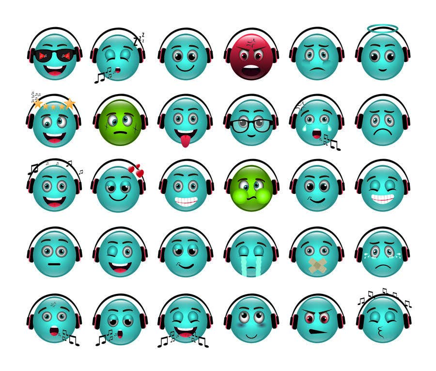 Bài tham dự cuộc thi #                                        93                                      cho                                         Design custom emojis for a YouTube-channel's membership program