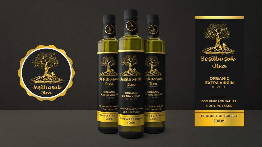 Proposition n°                                        158                                      du concours                                         Olive Oil Bottle Logo