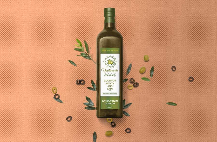 Proposition n°                                        106                                      du concours                                         Olive Oil Bottle Logo