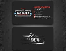 #1061 for BUSINESS CARD DESIGN FOR PLUMBING & GAS COMPANY af PreetySignature