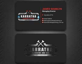 #1063 for BUSINESS CARD DESIGN FOR PLUMBING & GAS COMPANY af PreetySignature