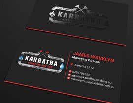 #1068 for BUSINESS CARD DESIGN FOR PLUMBING & GAS COMPANY af PreetySignature