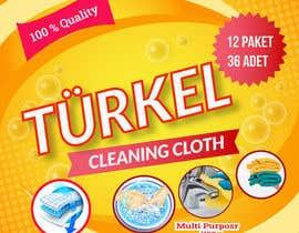 ayuhannaeshrak tarafından Create a Package Design for Cleaning Clothe Package için no 6